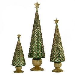 Diamond Burst Cone Tree (Traditional Green)