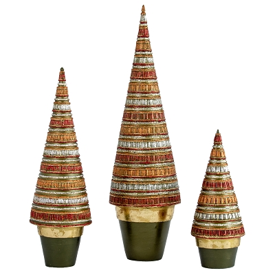 Gallerie Cone Tree (Olive Dream)